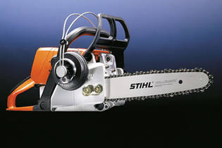 1995: 023 L – the world's quietest petrol-powered chainsaw