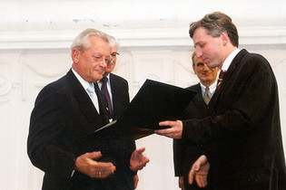 2003: Award for Hans Peter Stihl